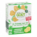 Biscuits animaux citron - 80g