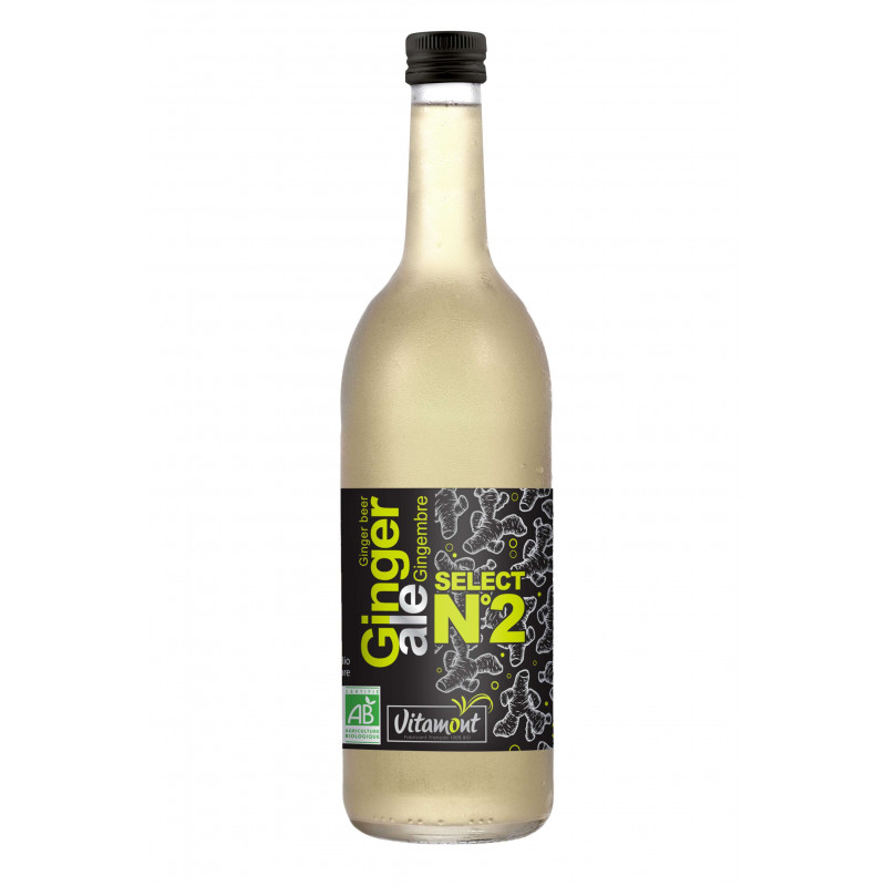 Ginger Ale gingembre - 75 cl