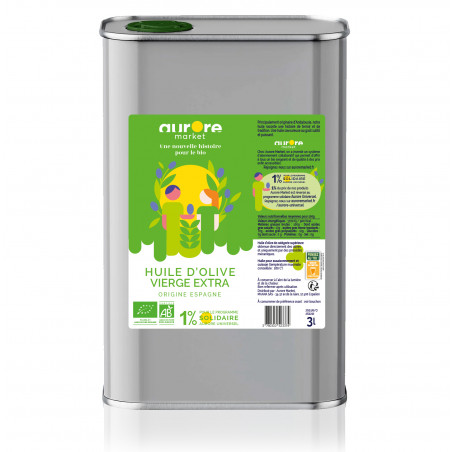 Huile d'olive extra vierge - 3l