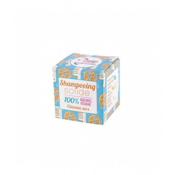 Shampoing solide cheveux secs orange - 55 g