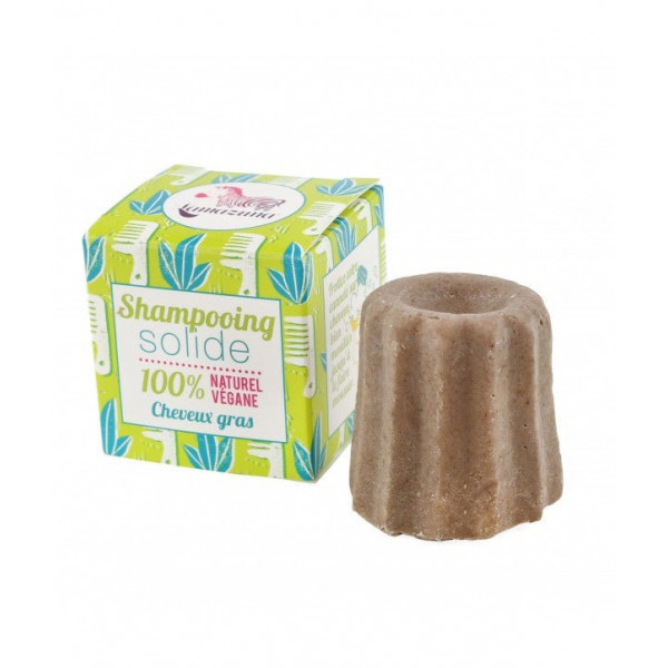 Shampoing solide cheveux gras litsee - 55 g