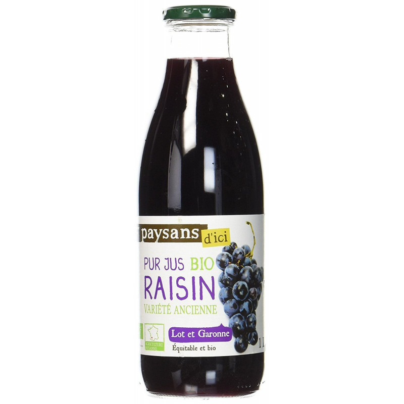 Pur jus de raisin Lot-et-Garonne - 1 L