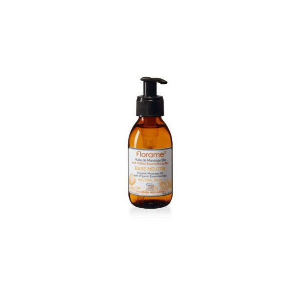 Huile de massage Base neutre BIO - 120 ml