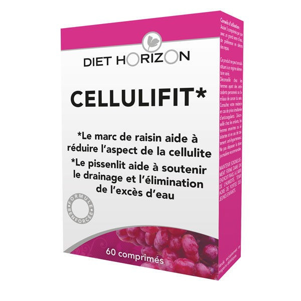 Cellulifit bio 60 comprimés