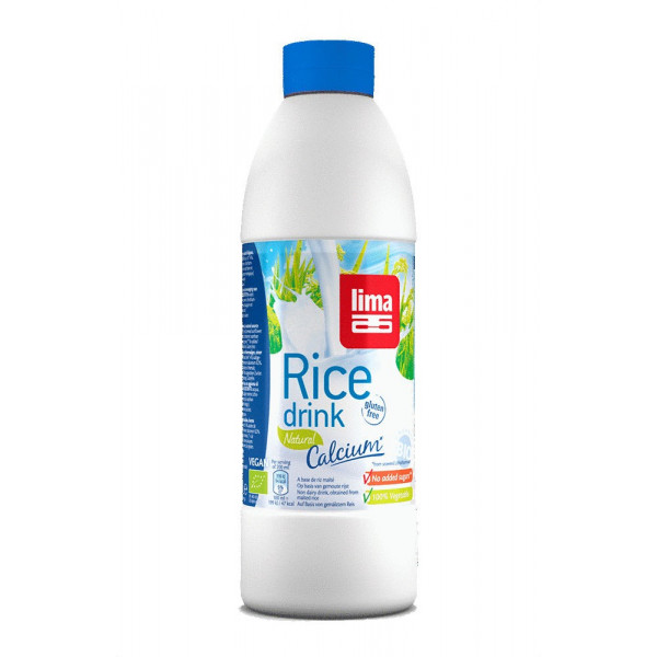 Lait de riz naturel calcium - 1 L