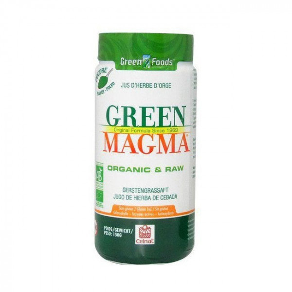 Green Magma jus d'herbe d'orge en poudre - x150 g