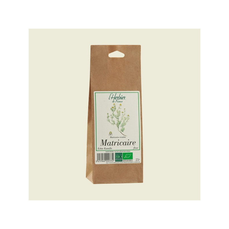 Camomille matricaire fleurs - 25 g