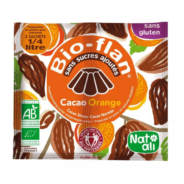 Bioflan orange cacao - 10 g