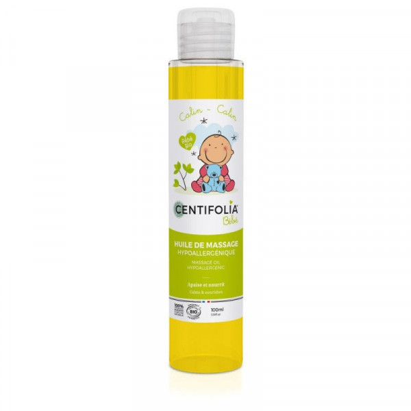 Huile de massage pour bébé - 100 ml