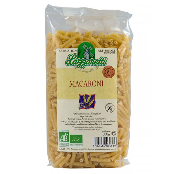 Macaronis blancs - 500 g