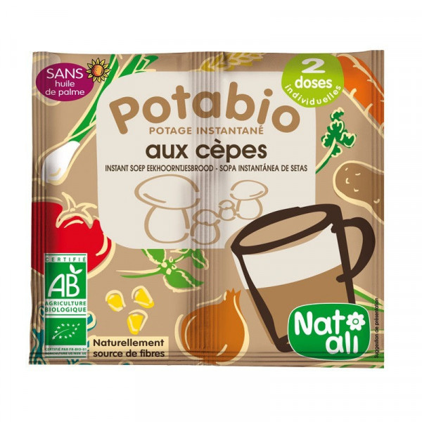 Potage cèpes - 2x8,5 g