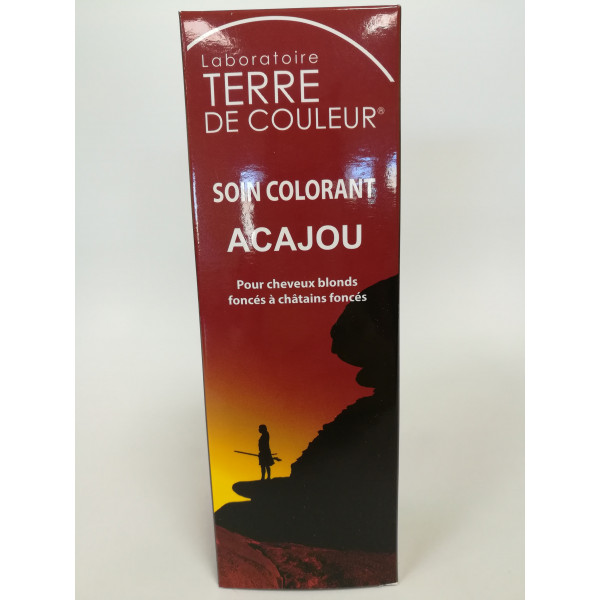 Soin colorant acajou - 100 g