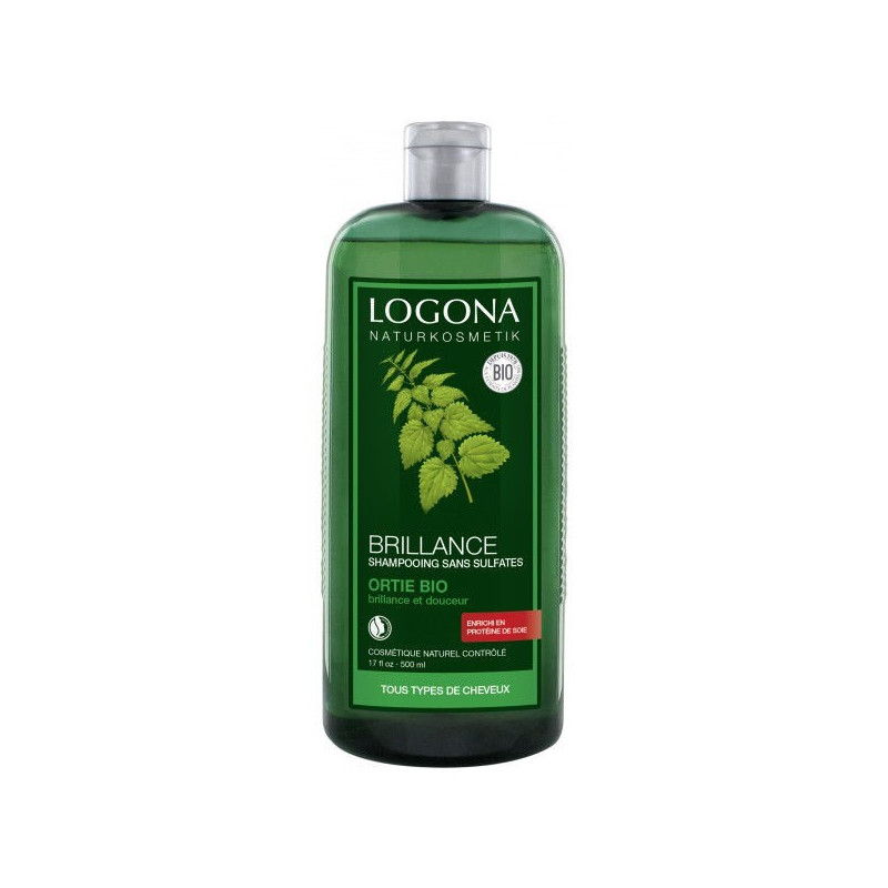 Shampoing brillance à l'ortie - 500 ml