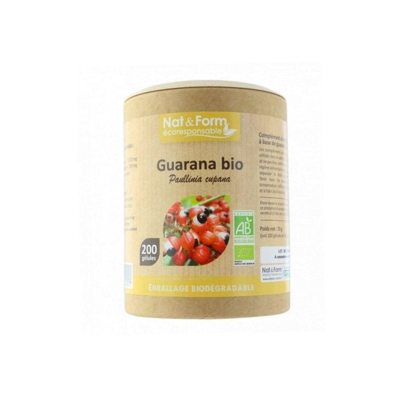 Guarana - 200 gélules