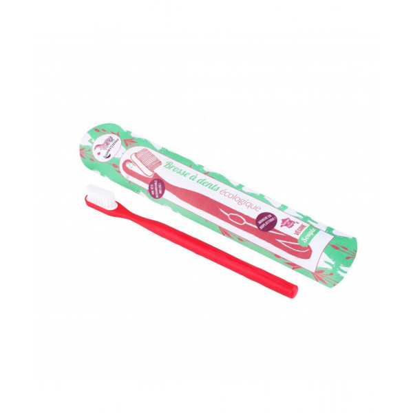 Brosse à dents rechargeable rouge - Médium