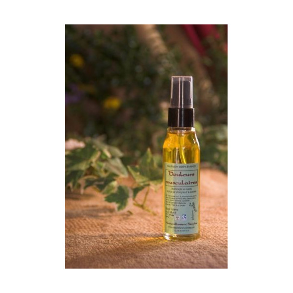 Huile douleurs musculaires - 50 ml