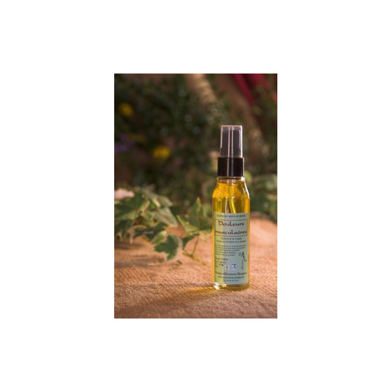 Huile douleurs musculaires - 50ml