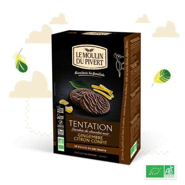 Biscuits tentation citron gingembre - 130 g
