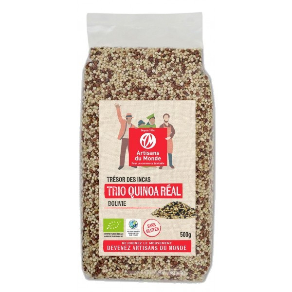 Trio quinoa real - 500g