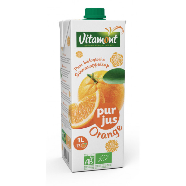 Pur jus d'orange brique - 1L