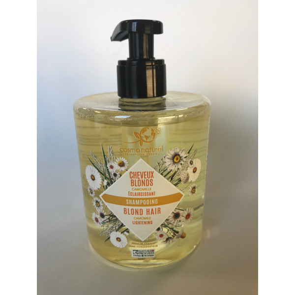 Shampoing cheveux blonds camomille - 500 ml