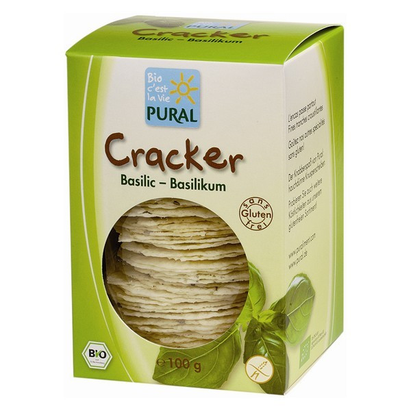 Crackers Basilic - 100 g