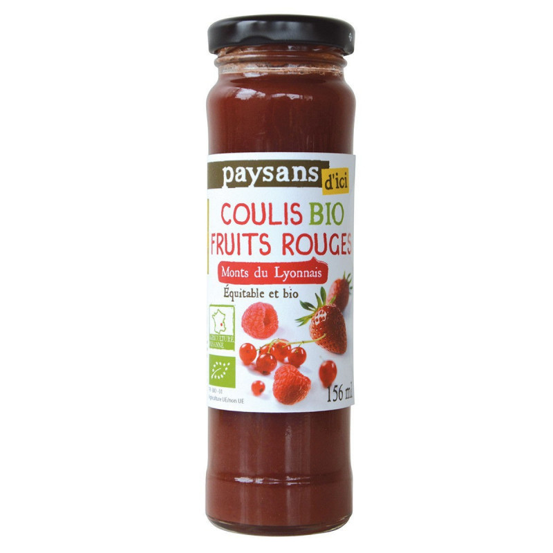 Coulis fruits rouges - 156mL