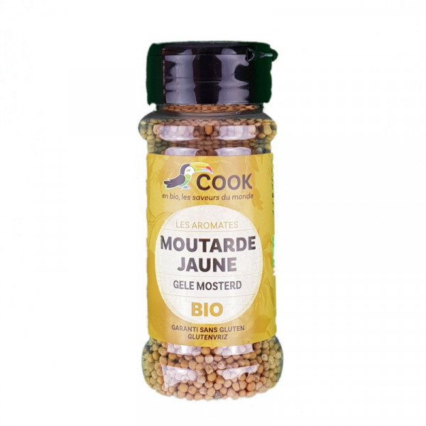 Moutarde jaune graines - 60g