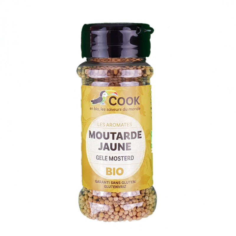 Moutarde jaune graine - 60 g