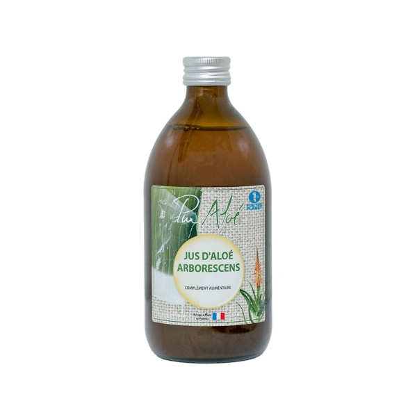 Jus d'aloe arborescens - 500 ml