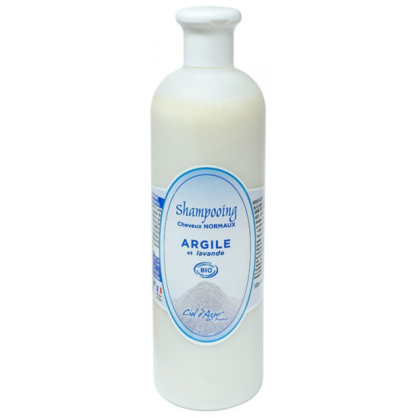 Shampoing argile cheveux normaux - 500 ml
