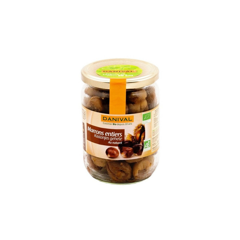 Marrons entiers au naturel - 320 g