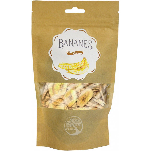 [date courte] Bananes chips - 120g