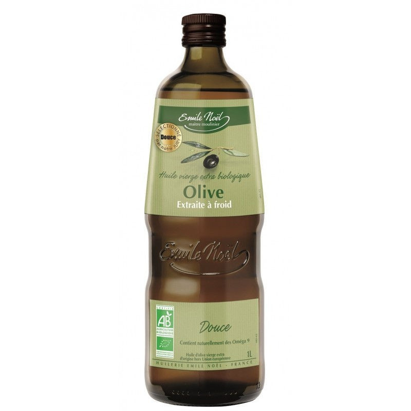 Huile d'olive vierge extra douce - 1 L
