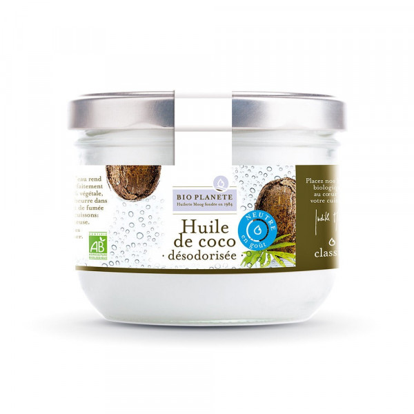 Huile de coco désodorisée - 400 ml