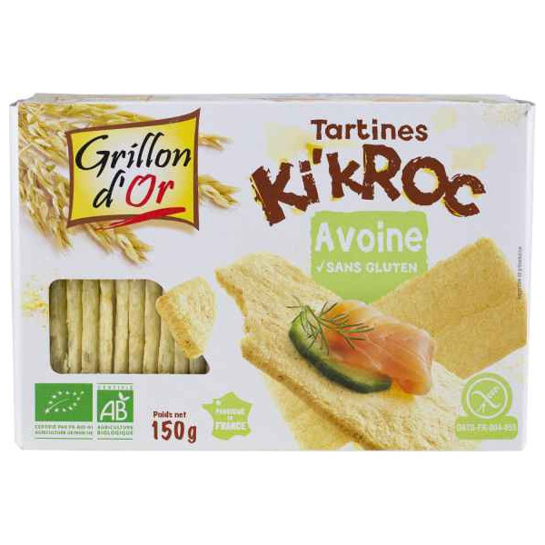 Tartines Ki'kroc avoine - 150g
