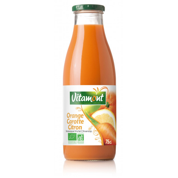 Jus carotte orange citron - 75cl