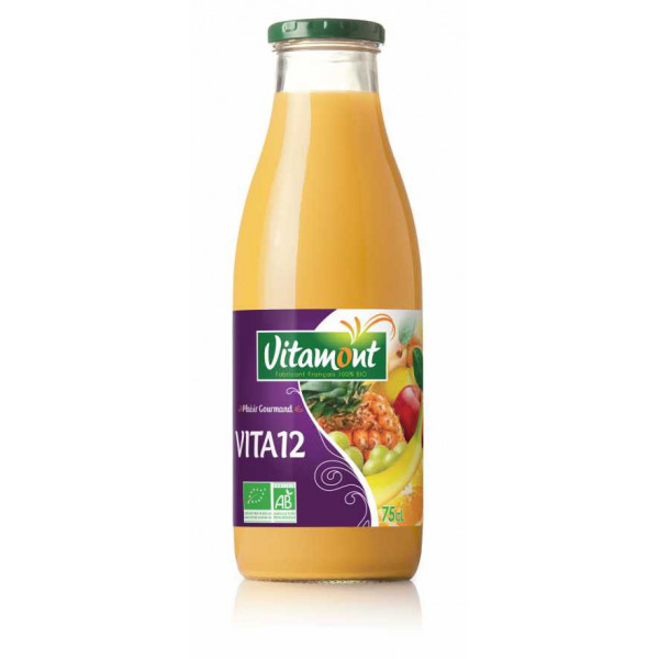 Jus vita 12 fruits - 75cl