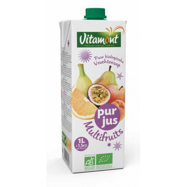 Jus multifruits brique - 1l