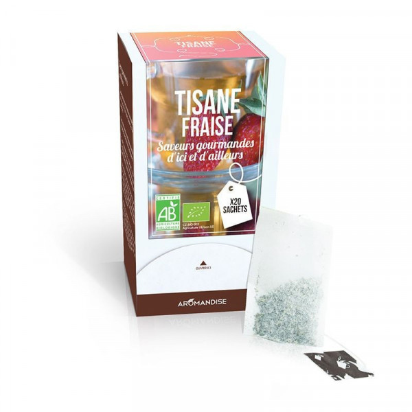 Infusion fraise hibiscus - 20 sachets