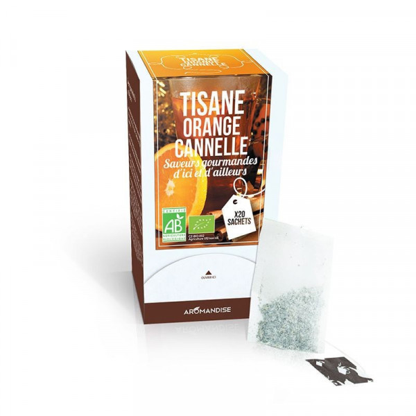 Infusion orange cannelle - 20 sachets