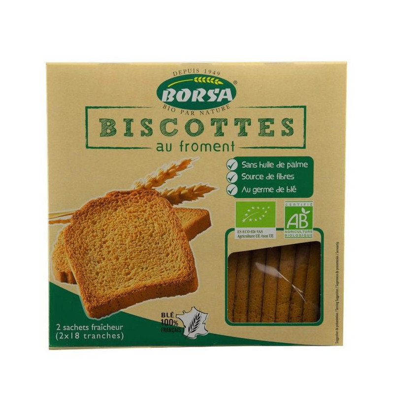 Biscotte froment - 300 g