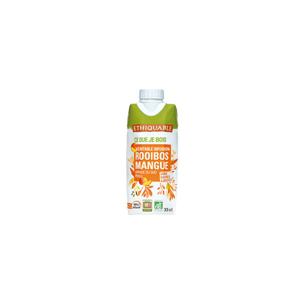 Infusion Rooibos Mangue - 33 cl