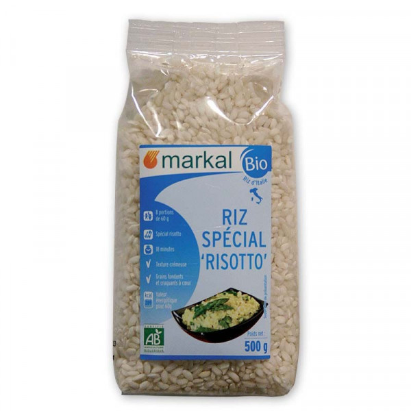Riz long blanc risotto - 500g