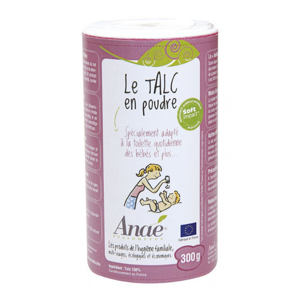 Talc en poudre - 300 g