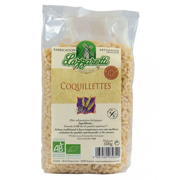 Coquillettes blanches - 500 g
