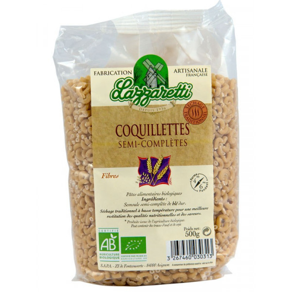 Coquillettes semi-complètes - 500 g