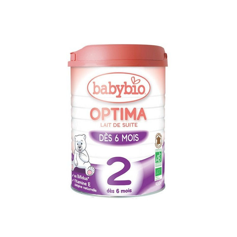 Lait de suite Optima - 2° âge - 900g