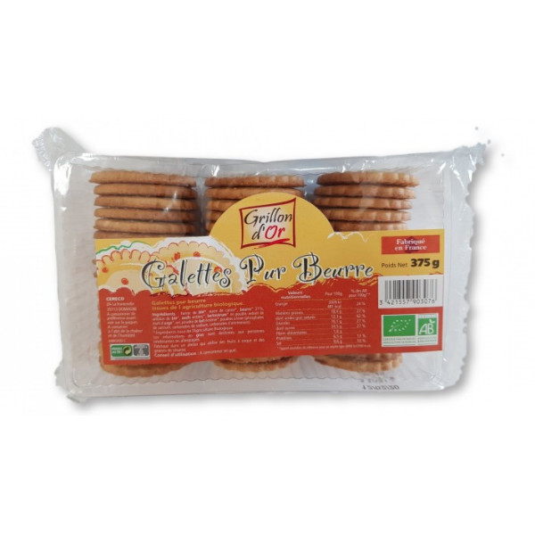 Galettes pur beurre - 375g