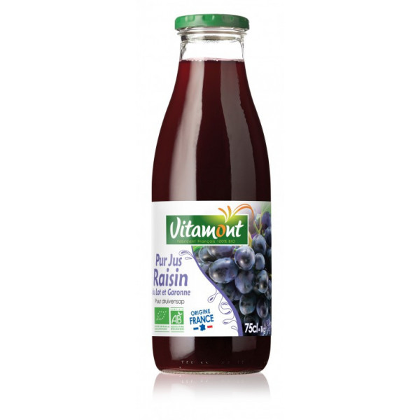 Pur jus de raisin rouge - 75cl